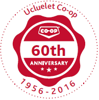 co-op 60th anniversary red